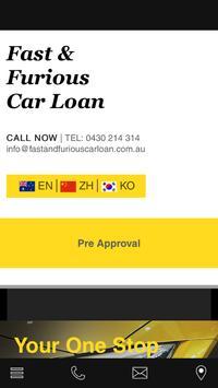FAST CAR LOAN poster