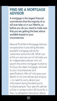 Find Me A Mortgage Advisor apk screenshot