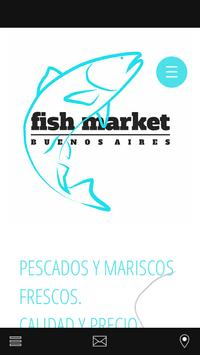 Fish Market Buenos Aires poster