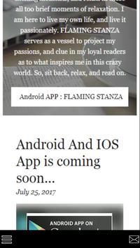 FLAMING STANZA screenshot 1