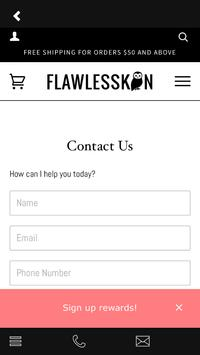 Flawlesskin apk screenshot