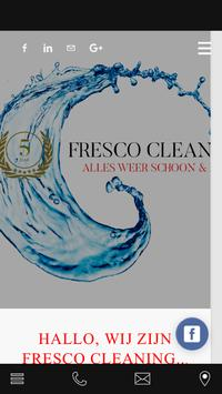Fresco Cleaning poster