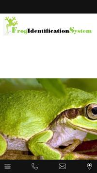 Frog Identification System poster
