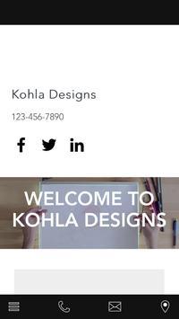 Kohla Designs poster