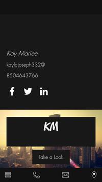 Kay M poster