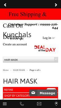 Kunchals Online Shopping App apk screenshot