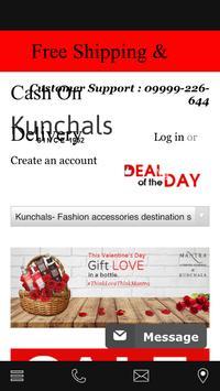 Kunchals Online Shopping App poster