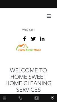 Home Sweet Home Cleaning poster