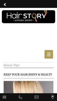 HairStory apk screenshot