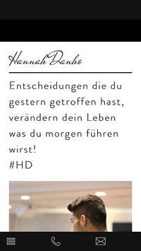 Hannah Danho poster