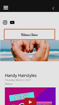 Helena's Blogging poster
