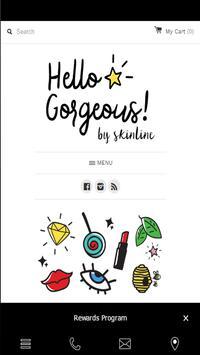 Hello Gorgeous MNL poster