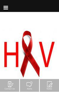 HIV HELP poster