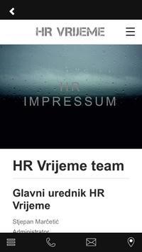 HR Vrijeme apk screenshot