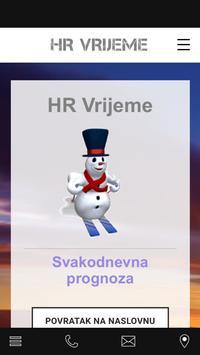 HR Vrijeme poster