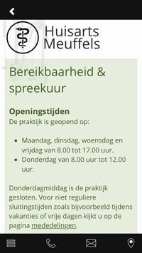 Huisarts Meuffels apk screenshot