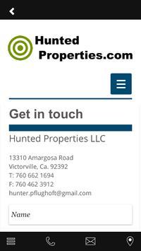 Hunted Properties apk screenshot