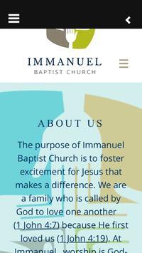 Immanuel Baptist Durham NC apk screenshot