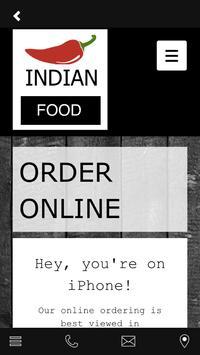Indian food apk screenshot