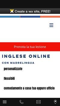 inglese online poster
