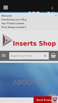 Inserts Shop apk screenshot