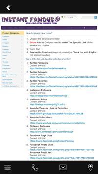 Instant Famous Socials screenshot 2