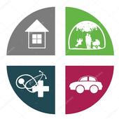 Insurance Companies Auto Mobil icon