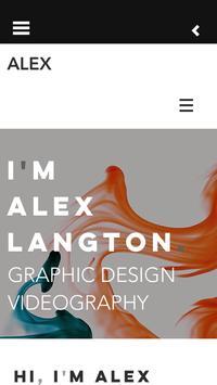 I AM ALEX LANGTON poster