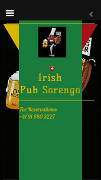IRISH PUB SORENGO poster