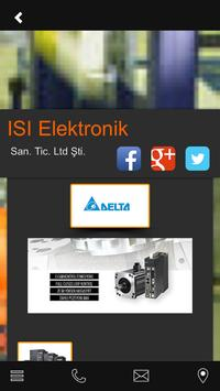 ISI Elektronik screenshot 1