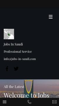 Jobs In Saudi poster