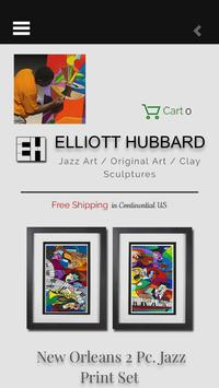 Jazz Art by Elliott Hubbard poster