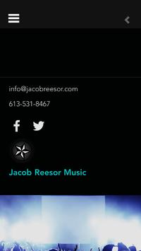 Jacob Reesor Music poster