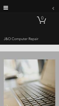 JandO Computer Repair poster