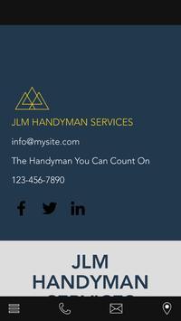 JLM HANDYMAN SERVICES poster