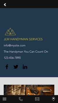 JLM HANDYMAN SERVICES screenshot 1