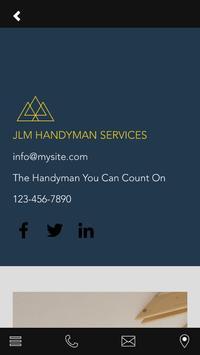 JLM HANDYMAN SERVICES screenshot 2