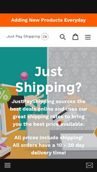 Just Pay Shipping poster
