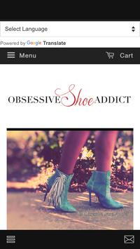 Obsessive Shoe Addict poster