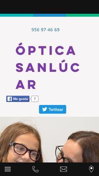 Optica Sanlucar poster