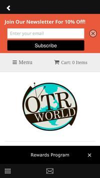 OTR World apk screenshot