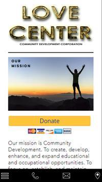 Love Center Community Develop poster