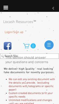 Locash Resources apk screenshot