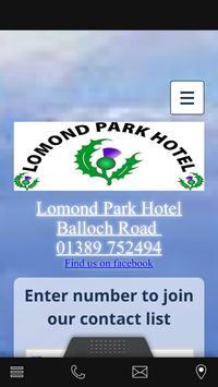Lomond Park Hotel poster