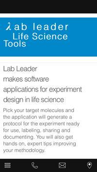 Lab Leader poster