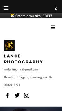 Lance PhotoGraphy poster