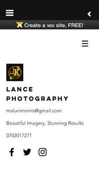Lance PhotoGraphy screenshot 1