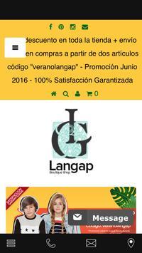 Langap Movile App poster