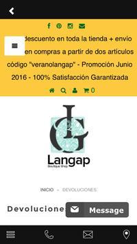 Langap Movile App apk screenshot