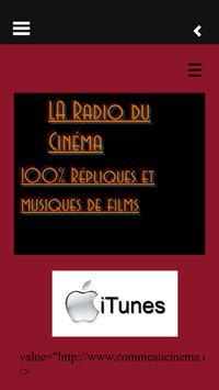 La Radio Du Cinema poster